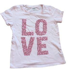 Old Navy Love T-Shirt